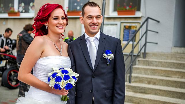 Svatba Anička a David