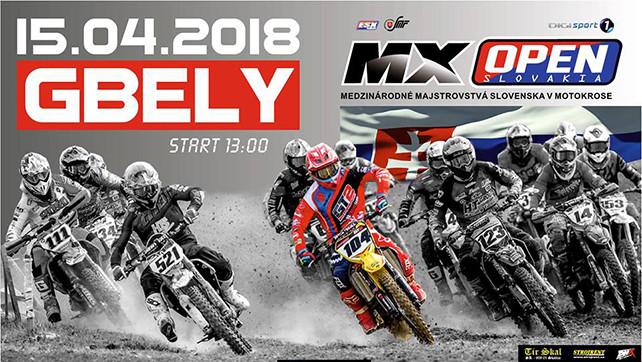 Motokros: MX Open – 15.04.18 Gbely