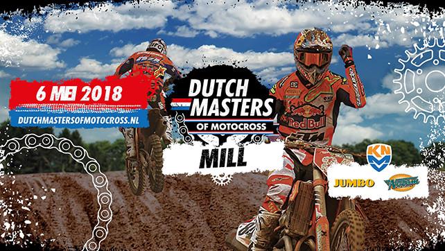 Motokros: Dutch Masters of Motocross – 06.05.18 Mill