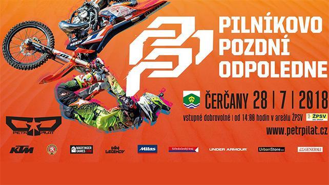 Freestyle Motocross: Pilníkovo pozdní odpoledne 13! – 28.07.18 Čerčany