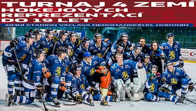 Hokej: 08.04.18 Turnaj 4 zemí reprezentací U19: Slovensko – Rusko, Česko – Finsko