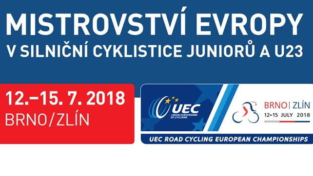 Silniční cyklistika: Mistrovství Evropy silniční cyklistice juniorů a U23 – 14-15.07.2018 Zlín