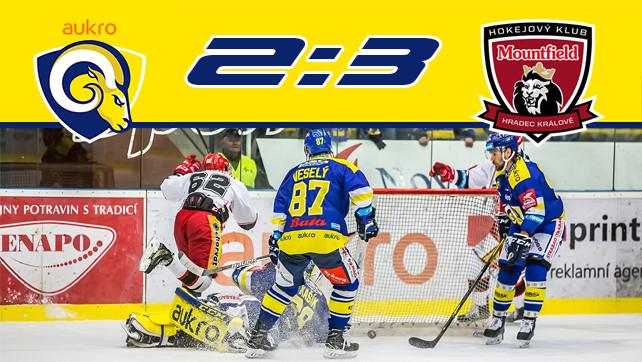 Hokej: 05.12.17 Aukro Berani Zlín – Mountfield HK 34.kolo