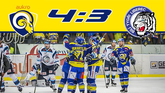 Hokej: 08.12.17 Aukro Berani Zlín – Bílí Tygři Liberec 29.kolo