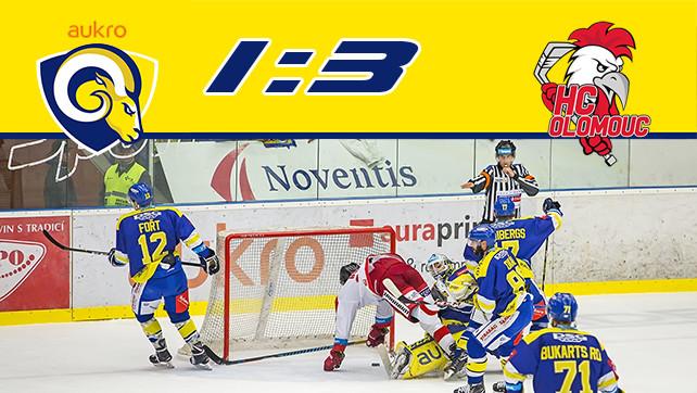 Hokej: 05.11.17 Aukro Berani Zlín – HC Olomouc 20.kolo