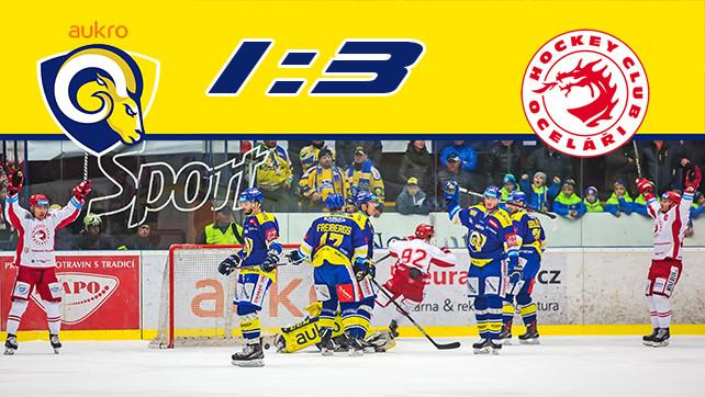 Hokej: 17.11.17 Aukro Berani Zlín – HC Oceláři Třinec 22.kolo